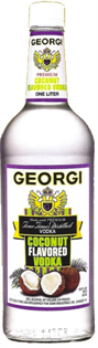 Georgi Vodka Coconut 1.00l - Case of 12